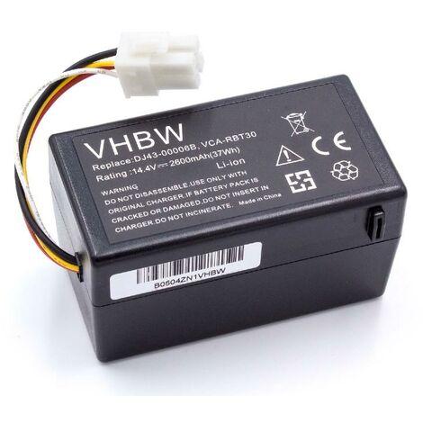 SR8825 SR8830 14.4V SR8846 come DJ63-01050A. SR8841 SR8828 per aspirapolvere Samsung navibot SR8730 SR8824 vhbw Ni-MH batteria 3000mAh SR8843