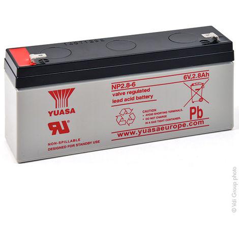 Batteria Yuasa 6V 2,8Ah Ermetica NP2.8-6;633178178CR;1285006;BT-6M5.0A...