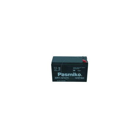 Batterie 12 Volts 7 Ampères Sans Entretien Rower,wolf
