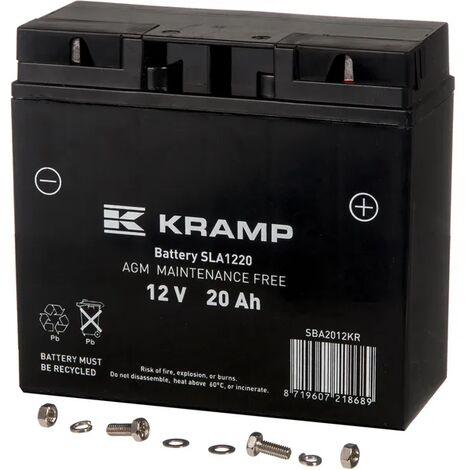 Batterie 12V 20Ah 70A - Universel adaptable