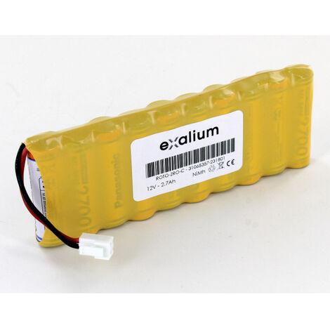 "main image of ""Batterie 12V 2.7Ah nimh pour volet roulant solaire ROTO funk zro sf"""