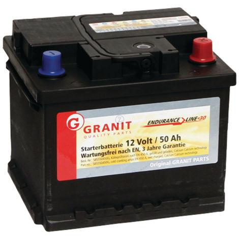Batterie 12V 50Ah 450A remplie