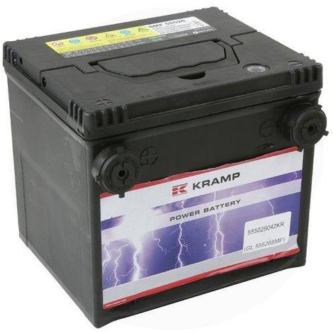 Batterie 12V 55Ah 420A - Universel