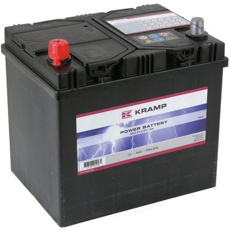 Batterie 12V 60Ah 520A - Universel