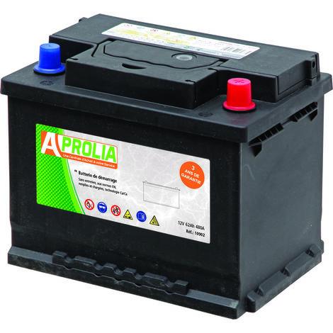 Batterie 12V 62Ah 480A - Universel