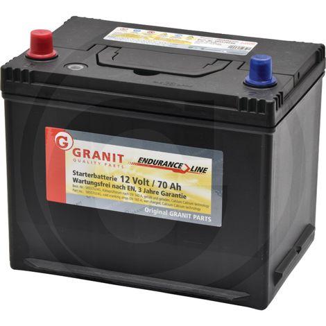 Batterie 12V 70Ah, 560A remplie
