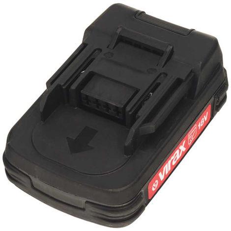 Batterie 18 V - 3 Ah Li-ion pour sertisseuse VIPER M21+, ML21+, P25+, Virax