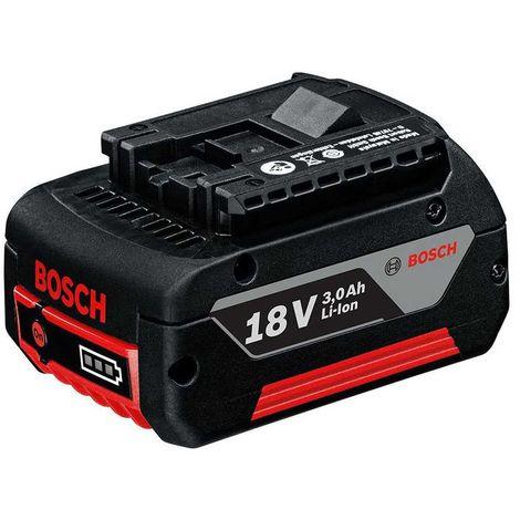 Batterie 18V 3,0 Ah Li-Ion Professionnel - BOSCH GBA18V 3Ah