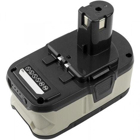 Batterie 18V 3Ah Li-ion BPP-1820 pour outils Ryobi One+