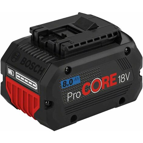 Batterie 18V 8.0Ah Li-ion Procore BOSCH - 1600A016GK