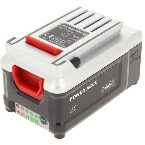 Batterie 18v pour Taille-haie Florabest, Coupe bordures Florabest