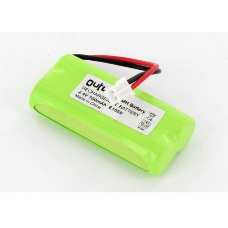 Batterie 2.4V 700mAh NiMh pour lecteur RFID SOLEM SB05