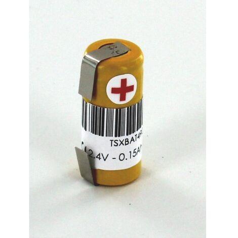 Batterie 2.4V TSXBAT4903 pour automate Schneider + cosses à souder