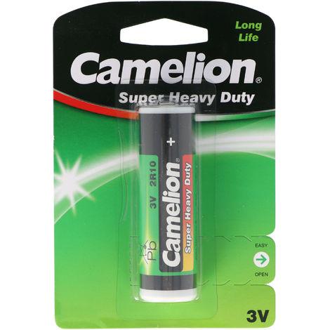 Batterie 2R10 Duplex Stab-Batterie, 2R10R, 3010, 2010, 3,0 Volt 73x21mm max. 600mAh