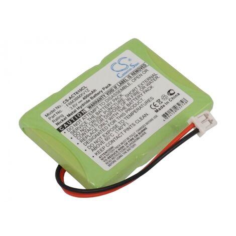 Batterie 3.6V 0.4Ah Ni-MH pour AUERSWALD Comfort DECT 610