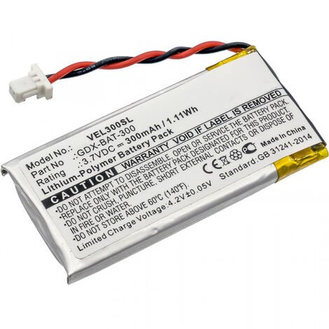 Batterie 3.7V Li-po GDX-BAT-300 pour Capteur Vernier Go Direct