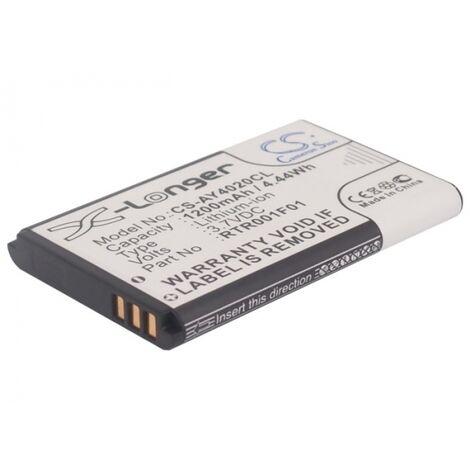 Batterie 3.7V 1.2Ah Li-ion pour AGFEO DECT 60 IP