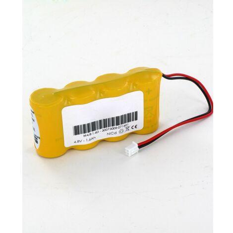 Batterie 4.8V 1.6Ah BYD 4 KRMT 23/43 Baes Ura, Legrand