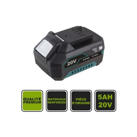 Batterie 5Ah Li-Ion 20V Samsung