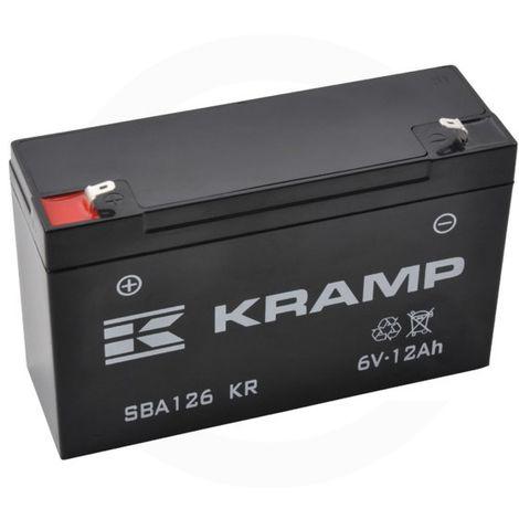 Batterie 6V 12Ah - Universel
