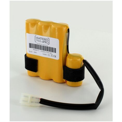 Batterie 8.4V 3Ah NiMh PBA007 Aspirateur piscine POOL BLASTER MAX Water Tech
