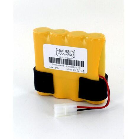 Batterie 9.6V 3Ah NiMh Aspirateur piscine POOL BLASTER MAX CG Water Tech