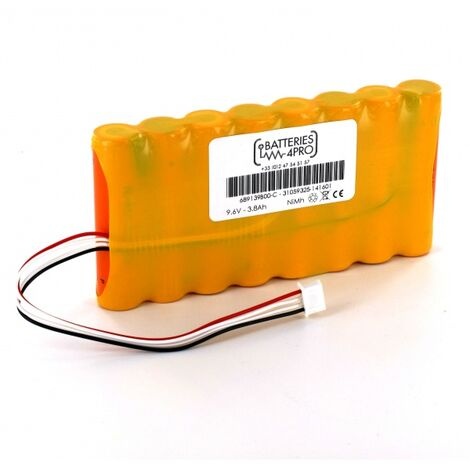 Batterie 9.6V 4/3A 3800 type 689139B00 pour Analyseur Chauvin Arnoux