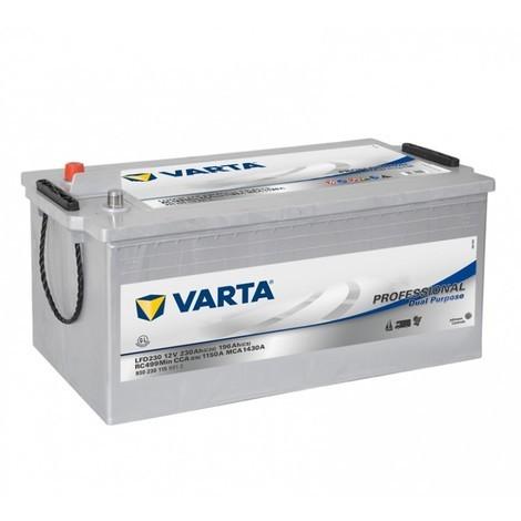 Batterie à décharge lente 12V VARTA Professional Dual Purpose - 230Ah