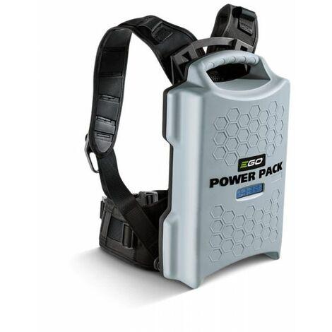 Batterie à dos Ego Power ARC Lithium 23Ah et harnais professionnel – PACK BAX1301 - Gris
