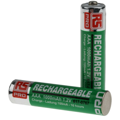 Batterie AAA rechargeable 1000mAh RS PRO