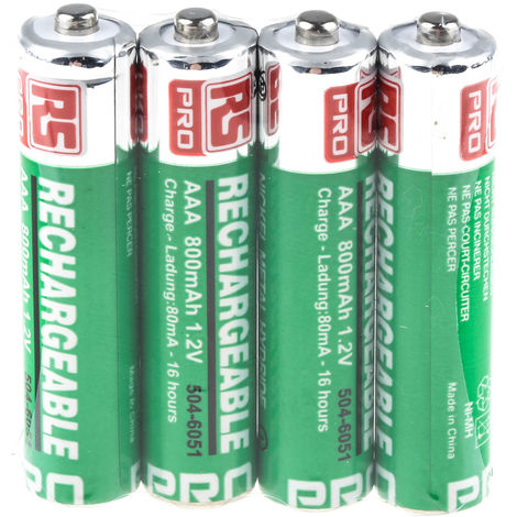 Batterie AAA rechargeable 800mAh RS PRO