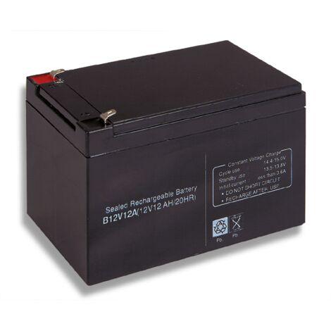 Batterie acide-plomb 12V 12Ah Cobat Inclus B12V12A