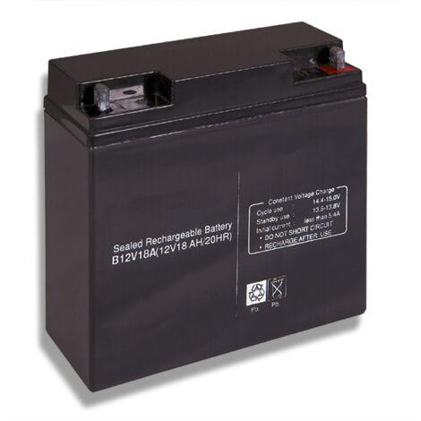 Batterie acide-plomb 12V 18Ah Cobat Inclus B12V18A