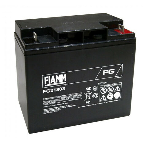 Batterie acide-plomb 12V-18AH rechargeable FG21803