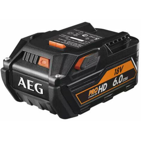 Batterie AEG 18V Lithium-ion 6,0Ah HD - L1860R HD