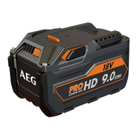 Batterie AEG 18V Lithium-ion HD 9.0Ah L1890R HD