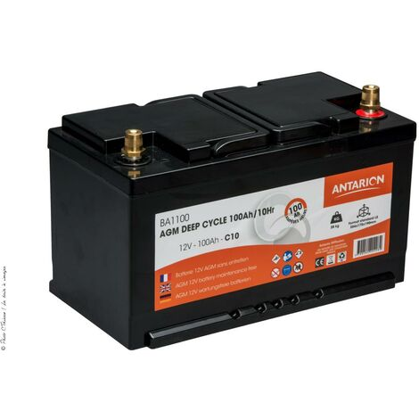 Batterie AGM Deep Cycle ANTARION 100 Ah / C10