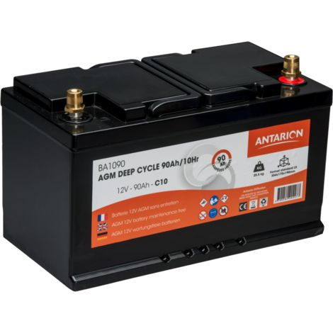 Batterie AGM Deep Cycle ANTARION 90 Ah / C10