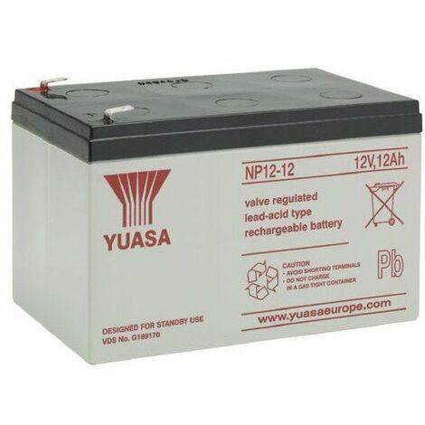 Batterie AGM étanche 12V 7 à 38 Ah