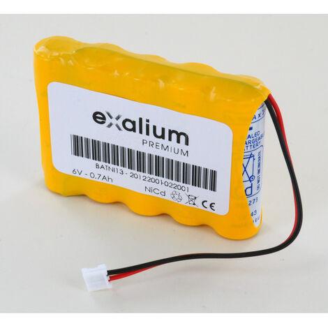 Batterie alarme Daitem pour coffret interphone Batni13