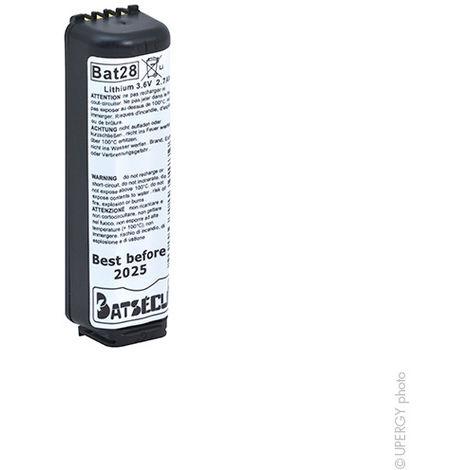 Batterie Alarmsystem BATLI28 3.6V 2.7Ah