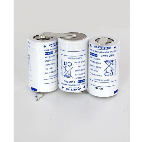 Batterie ARTS (SAFT) 3.6V 4Ah 3VTD Cote cote 131607