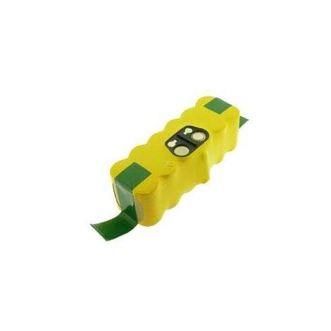 Batterie aspirateur robot 2.5Ah 14.4V NIMH iRobot Roomba APS 520, 530, 550, 555, 560, 562, 563, 564, 580, 581 / 80501 / Auto Cleaner / Vacuum U290 / M-488