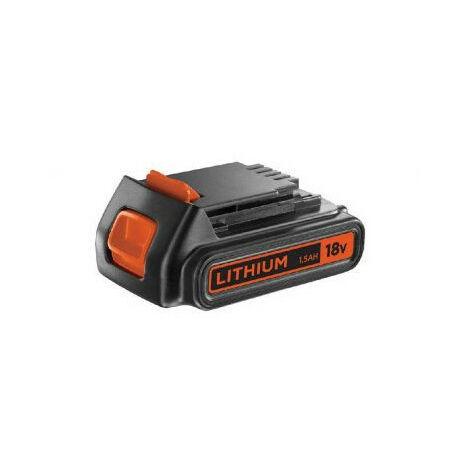 Batterie au lithium 18V 1.5Ah BLACK&DECKER