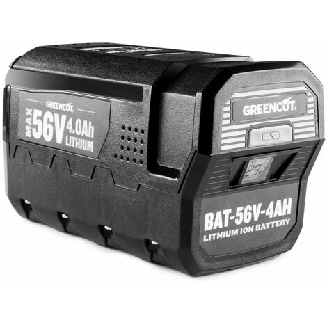 Batterie Au Lithium 4 0ah Pour Outils De Jardin Greencut 56v Max
