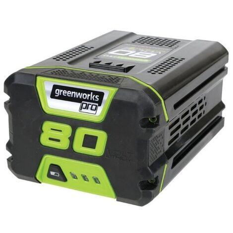Batterie au lithium-ion Greenworks G80B2 80V - 2.0Ah