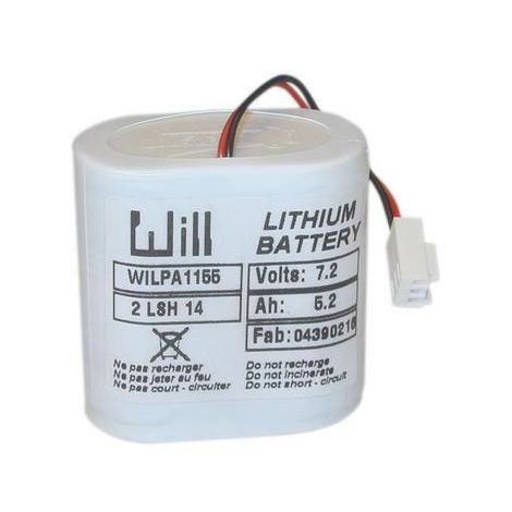 batterie au lithium pour aquasensor solar - pil -s04 - mg international