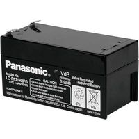Batterie au plomb 12 V 1.3 Ah Panasonic 12 V 1,3 Ah plomb (AGM) (l x h x p) 97 x 50 x 48 mm connecteur plat 4,8 mm certification VdS, sans entretien,