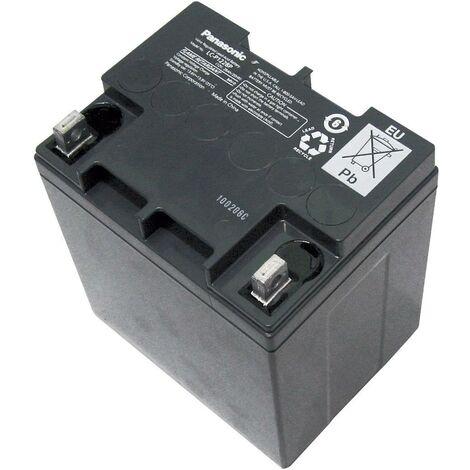 Batterie au plomb 12 V 28 Ah Panasonic Longlife plomb (AGM) (l x H x P) 165 x 175 x 125 mm raccord à vis M5 sans entretien A37275