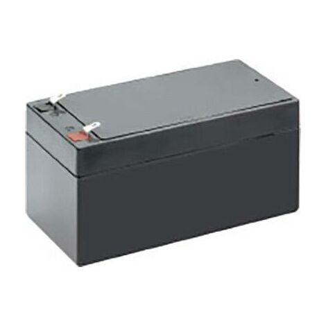 Batterie au plomb 12 V 3.2 Ah Conrad energy CE12V/3,2Ah plomb (AGM) (l x H x P) 134 x 61 x 67 mm cosses plates 4,8 mm sans entretien A37960